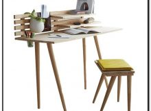 meja kerja minimalis modern