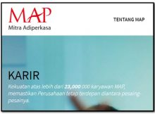 Management Trainee PT Mitra Adiperkasa (MAP)
