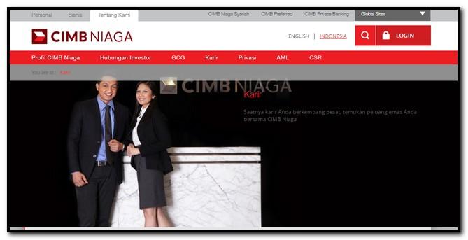 Pengalaman tes bank CIMB Niaga