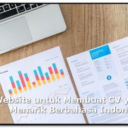 website membuat cv