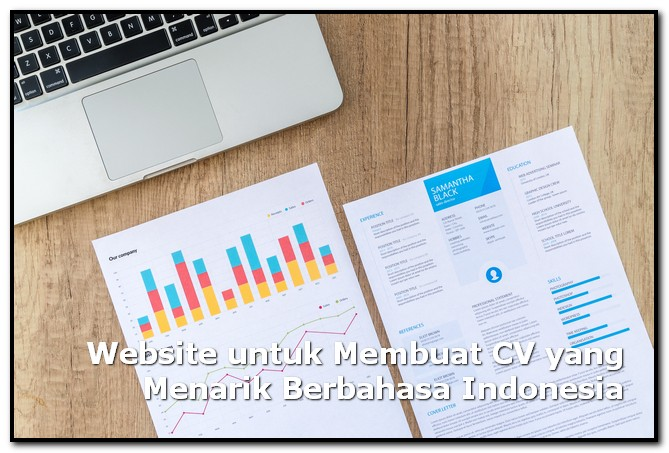 website membuat cv
