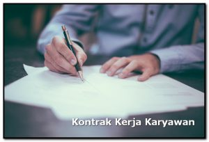 kontrak kerja karyawan