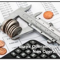 Biaya operasional dan non operasional