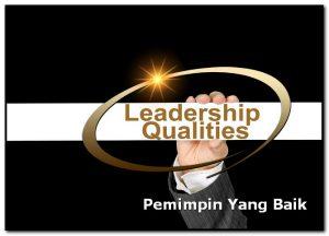 pemimpin yang baik