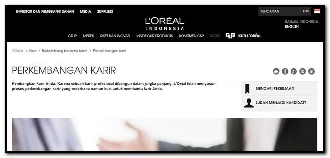 pengalaman tes L'Oreal Indonesia YEP