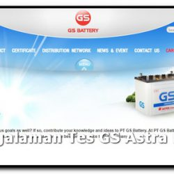 pengalaman tes gs astra battery