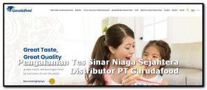 pengalaman tes pt Sinar Niaga Sejahtera Distributor PT Garudafood