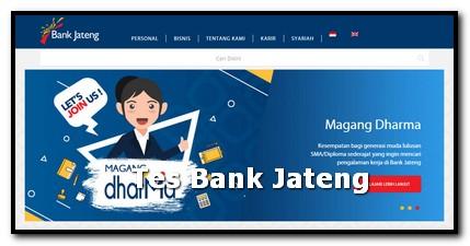 Pengalaman tes bank jateng