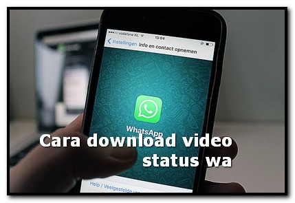 cara download video status wa