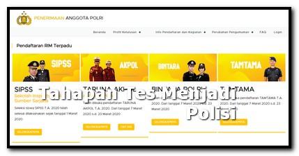 pengalaman tes kepolisian