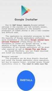 cara install google installer