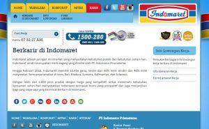 website resmi indomaret karir