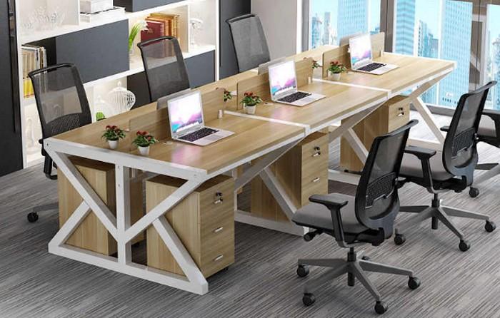 meja kerja staff