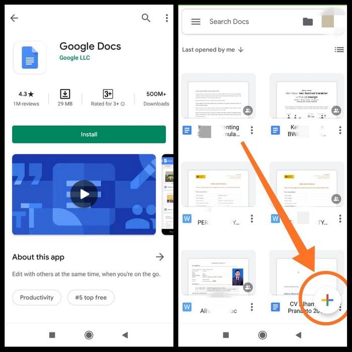 aplikasi google docs