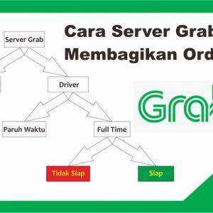 cara server grab memberi order