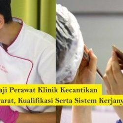 gaji perawat di klinik kecantikan