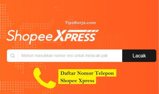 no telp shopee express